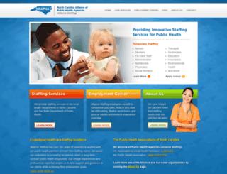 ncapha.org screenshot