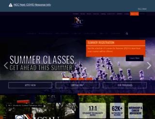 ncc.edu screenshot