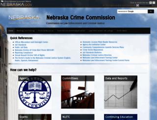 ncc.nebraska.gov screenshot