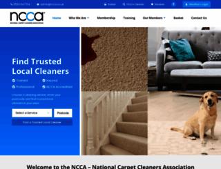 ncca.co.uk screenshot