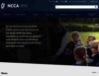 ncca.ie screenshot