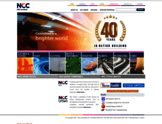 ncclimited.com screenshot