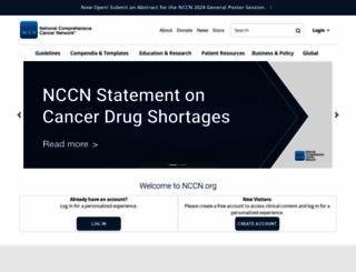 nccn.org screenshot
