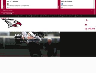 nccueaglepride.cstv.com screenshot
