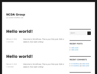 ncdagroup.com screenshot