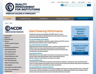 ncdr.com screenshot