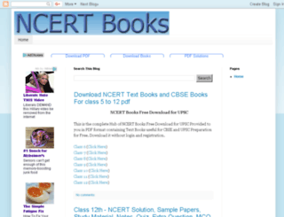 ncertsolutionsbooks.blogspot.in screenshot
