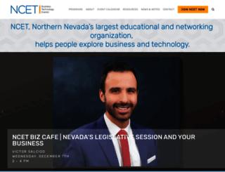 ncet.org screenshot