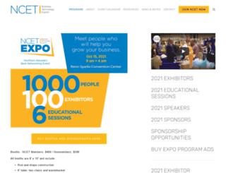 ncetexpo.org screenshot