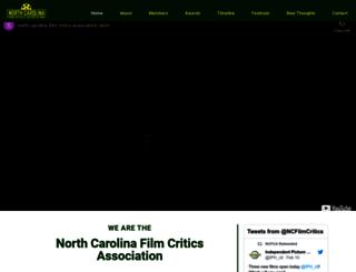 ncfilmcritics.org screenshot