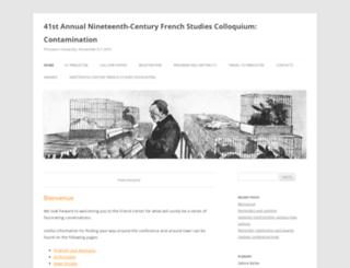 ncfs2015.princeton.edu screenshot