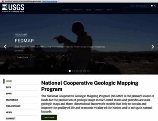 ncgmp.usgs.gov screenshot