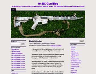 ncgunblog.com screenshot