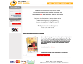 Access ncinmatepackage.com. Union Supply Direct - North ...