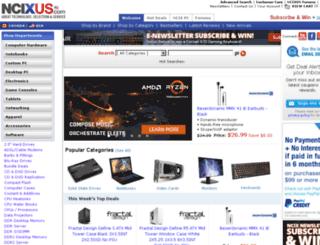 ncixus.com screenshot