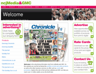 ncjmedia.co.uk screenshot