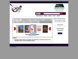 ncl.enkilibrary.org screenshot