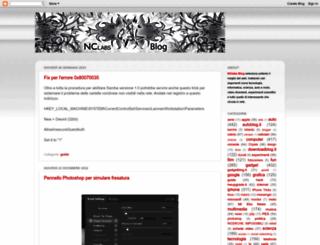 nclabs.blogspot.com screenshot