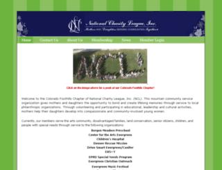 nclcfh.chapterweb.net screenshot