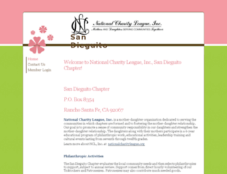 nclsandieguito.chapterweb.net screenshot