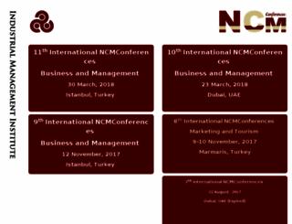 ncmconferences.com screenshot