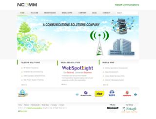 ncomm.in screenshot