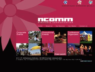 ncommeventorganiser.com screenshot