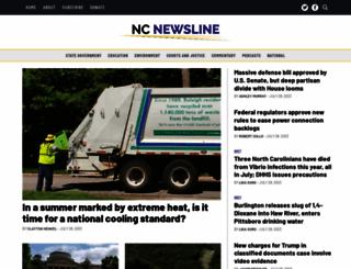 ncpolicywatch.org screenshot