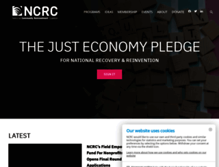 ncrc.org screenshot