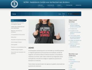 ncrm.nl screenshot
