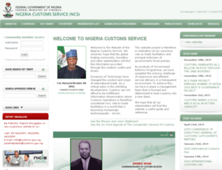 ncs.gov.ng screenshot