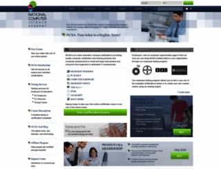ncsacademy.com screenshot