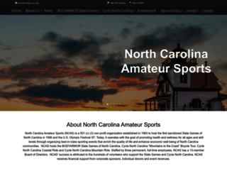 ncsports.org screenshot
