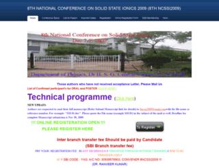 ncssi2009.weebly.com screenshot