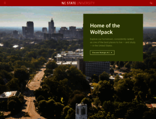ncsu.edu screenshot