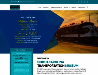 nctrans.org screenshot