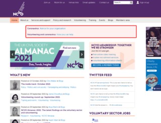 ncvo-vol.org.uk screenshot