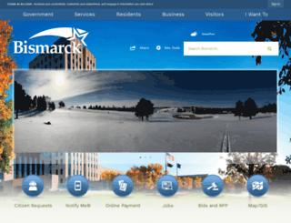 nd-bismarck.civicplus.com screenshot