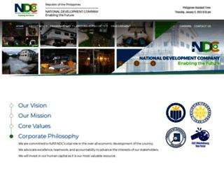 ndc.gov.ph screenshot