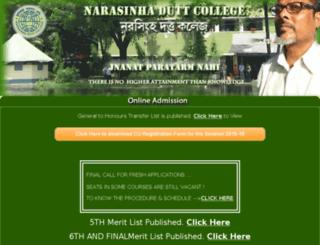ndcadmission.org screenshot