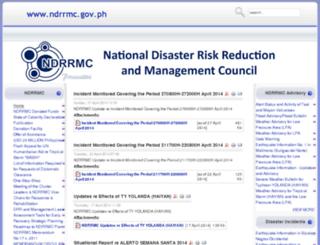ndcc.gov.ph screenshot