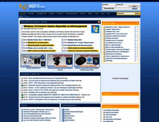 ndfr.net screenshot