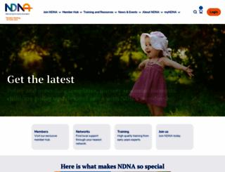 ndna.org.uk screenshot