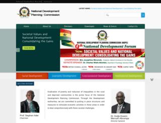ndpc.gov.gh screenshot