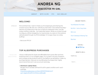 ndrealynn.wordpress.com screenshot