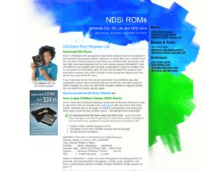 ndsiroms.com screenshot