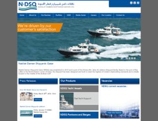 ndsq.com.qa screenshot