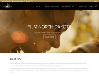 ndstrong.org screenshot