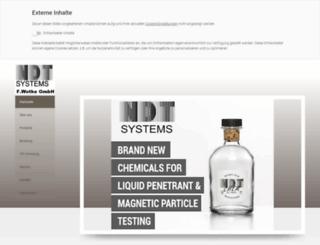 ndt-systems.com screenshot