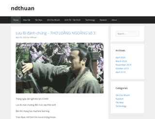 ndthuan.com screenshot